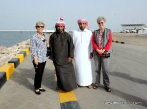 Cindy Bradford in Oman