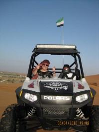 Cindy Bradford in the UAE