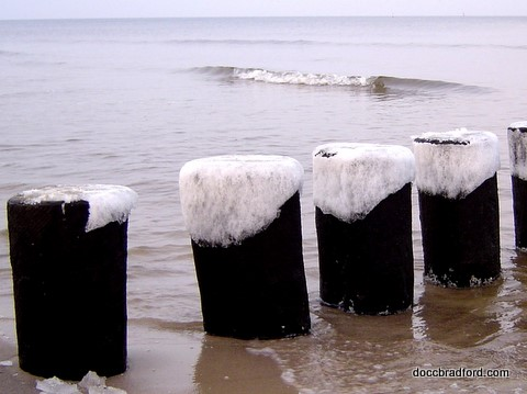 Ice at South Padre Island